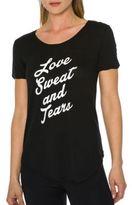 Betsey Johnson Love Sweat and Tears Tee