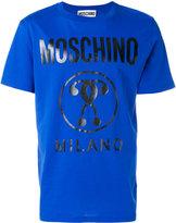 Moschino logo printed T-shirt - men - Cotton - 50