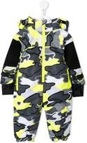 Stella McCartney camouflage print snowsuit