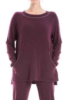 Max Studio Raglan Sleeve High/Low Pullover