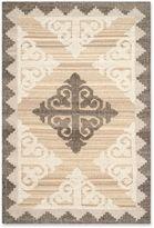 Safavieh Kenya Damask Rug in Brown/Charcoal