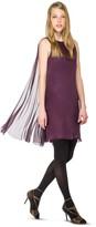 Max Studio Silk Mesh Chiffon Sleeveless Dress
