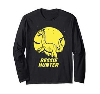 Hunter Bessie Lake Erie Hide & Seek Champion Cryptid Long Sleeve T-Shirt