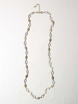 White Stuff Annie mixed metal necklace