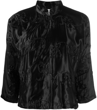 COMME DES GARÇONS GIRL Embroidered Fitted Jacket