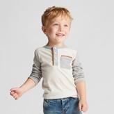 Genuine Kids from OshKosh Toddler Boys' Long Sleeve Henley Shirt Genuine Kids from OshKosh® - Oatmeal