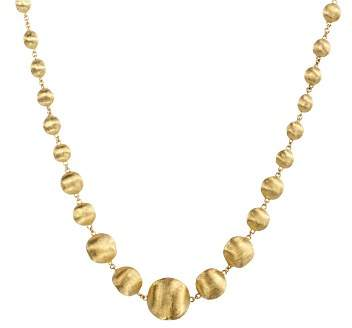 """Marco Bicego Africa Collection"""" 18K Yellow Gold Bead Necklace, 17"""""""