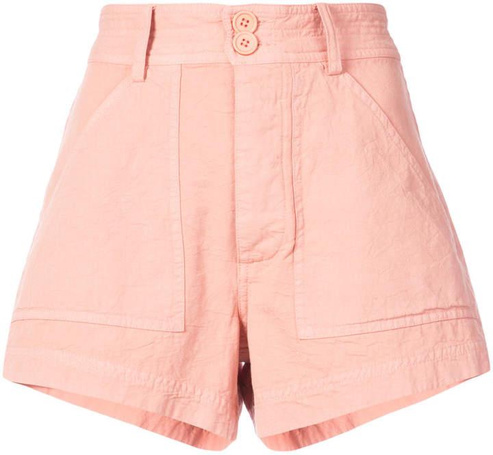 Apiece Apart high waist shorts