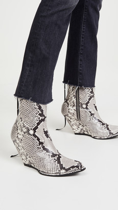 Unravel Project Low Print Python Boots