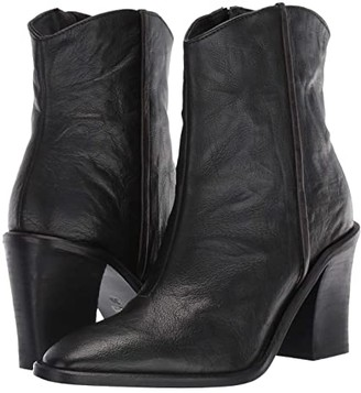Free People Barclay Ankle Boot (Black) Women's Shoes