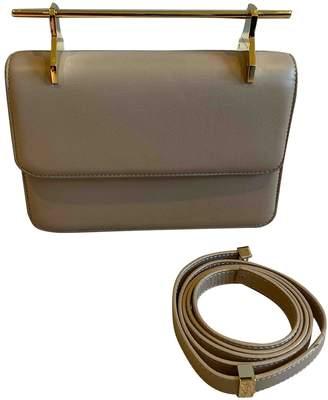 M2Malletier Camel Leather Handbags