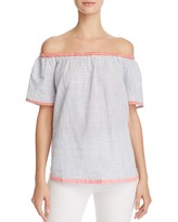 Soft Joie Mikina Off-the-Shoulder Top