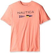 Nautica Men's Big and Tall Short-Sleeve Graphic T-Shirt