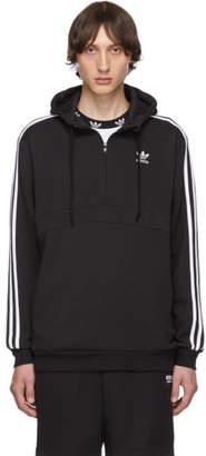 adidas Black 3-Stripes Hoodie