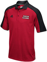 adidas Men's Louisiana Ragin' Cajuns Sideline Polo Shirt