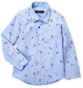 Manuell & Frank Toddler Boys) Bubble Printed Shirt