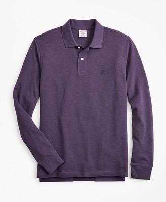 Brooks Brothers Original Fit Supima Long-Sleeve Performance Polo Shirt