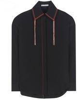Acne Studios Slade Cdc Silk Shirt