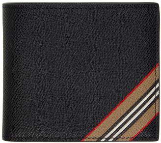 Burberry Black Stripe International Wallet