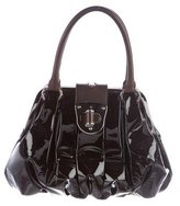 Alexander McQueen Patent Leather Elvie Bag