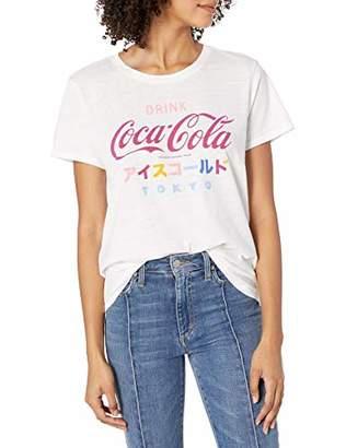 Lucky Brand Women's Short Sleeve Scoop Neck Coke Tokyo Tee