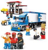 Heavy Duty Truck Block Set