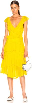 Marissa Webb Dion Dress in Canary Yellow | FWRD