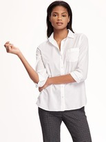 Old Navy Classic White Shirt for Women