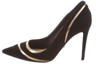Diane von Furstenberg Bandele Pointed-Toe Pumps