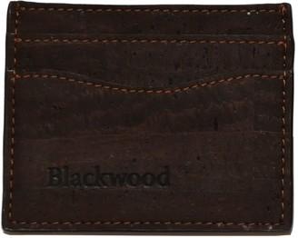 Blackwood Oak Brown Cork Leather Card Holder