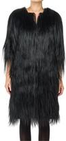 Max Studio Long Hair Fur Coat