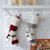 west elm Knit Stocking