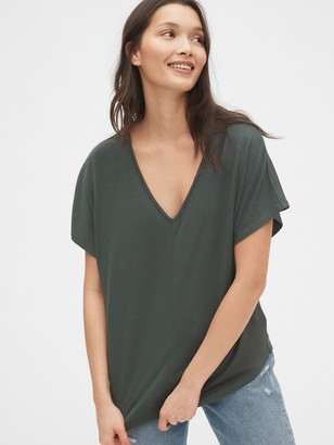 Gap Softspun V-Neck T-Shirt