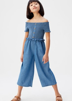 MANGO Medium denim jumpsuit