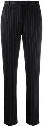 Styland Pinstripe Straight-Leg Trousers