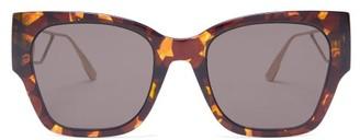 Christian Dior 30montaigne logo Tortoiseshell Sunglasses - Tortoiseshell