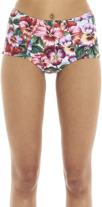 Dolce & Gabbana Floral Printed Bikini Bottom