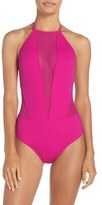 Ted Baker Women's Halter One-Piece Swimsuit