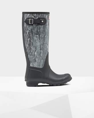 Hunter Women's Original Tall Marble Wellington Boots
