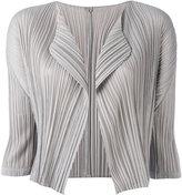 Pleats Please By Issey Miyake - cropped blazer - women - Polyester - 3