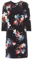 Erdem Emma floral-printed silk minidress