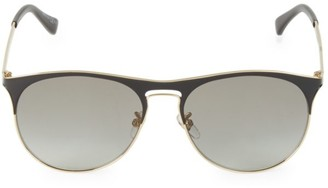 Givenchy 58MM Goldtone Round Sunglasses