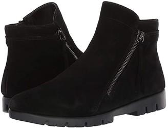 The Flexx Mojo (Black Waterproof Suede) Women's Shoes