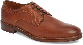 Johnston & Murphy Warner Plain Toe Derby