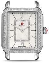 Michele Deco II Diamond Dial Watch Head, 26mm x 27.5mm