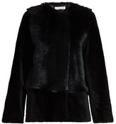 Inès & Marèchal Adeline fur-panel coat