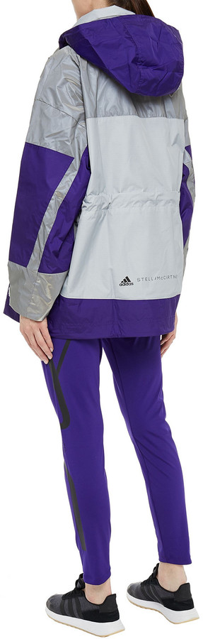 Thumbnail for your product : adidas by Stella McCartney Truepace Reflective-trimmed Stretch Leggings