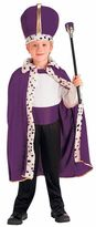 Kids King Purple Robe & Crown Costume Set