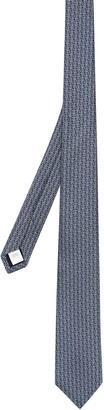Burberry Monogram Silk Jacquard Tie