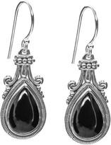 Artisan Crafted Sterling Gemstone Drop Earrings